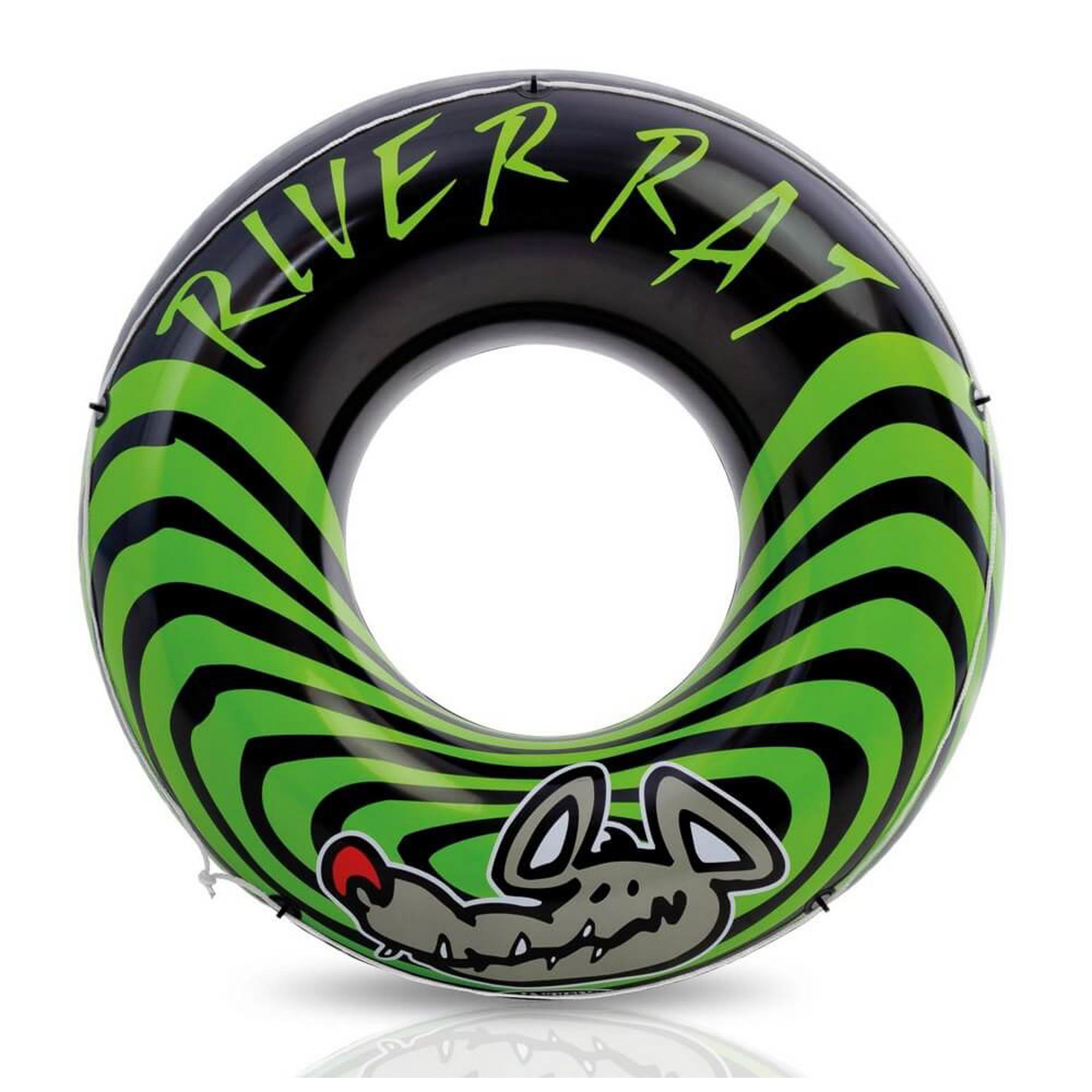 Круг для плавания Intex River rat 122 см (68209NP) intex надувной круг для плавания русалка 147х107х79 см