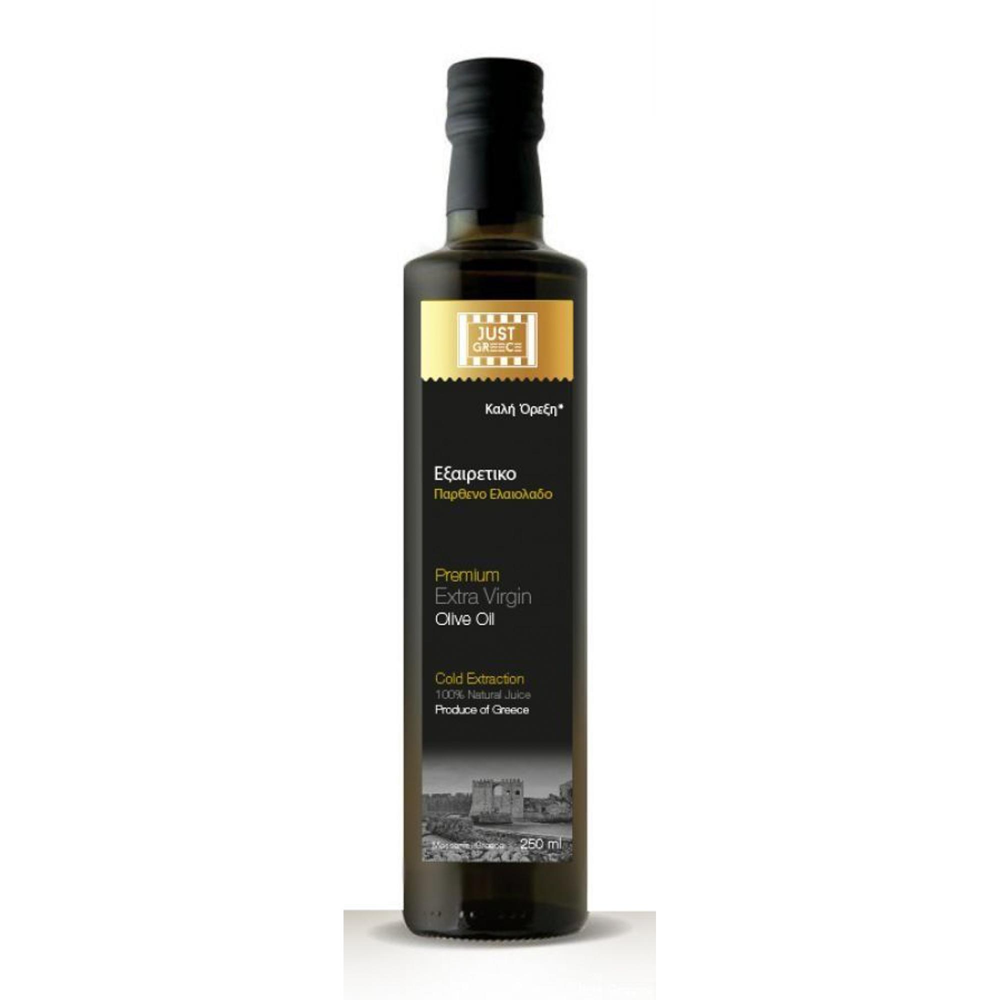 Масло оливковое JUST GREECE Extra Virgin 250 мл korvel оливковое масло extra virgin греция данае 250 мл
