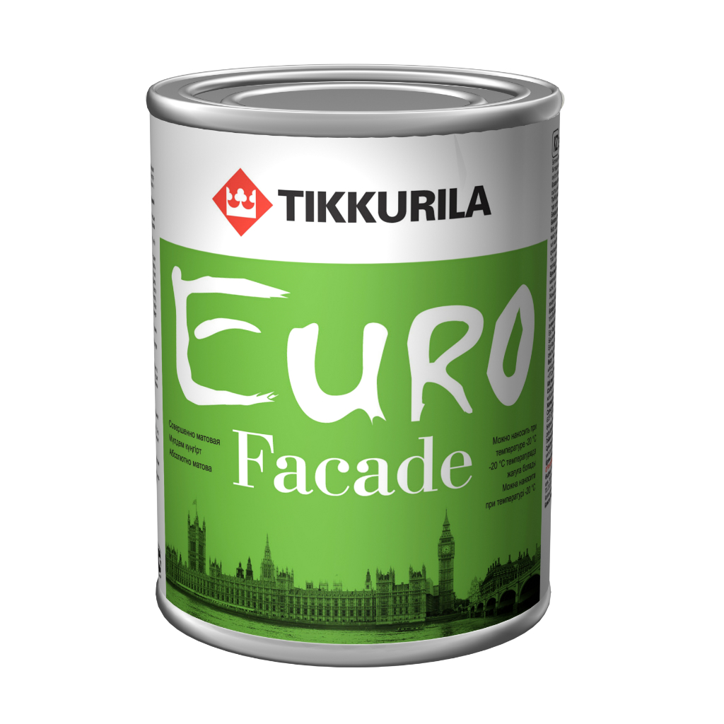 Краска фасадная тиккурила евро ка 9 л недорого