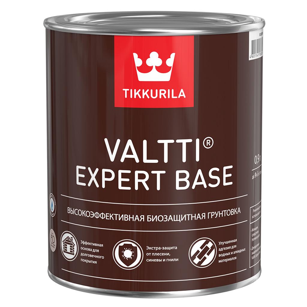 Грунтовка-антисептик tikkurila valtti expert для дерева base 0.9 л недорого