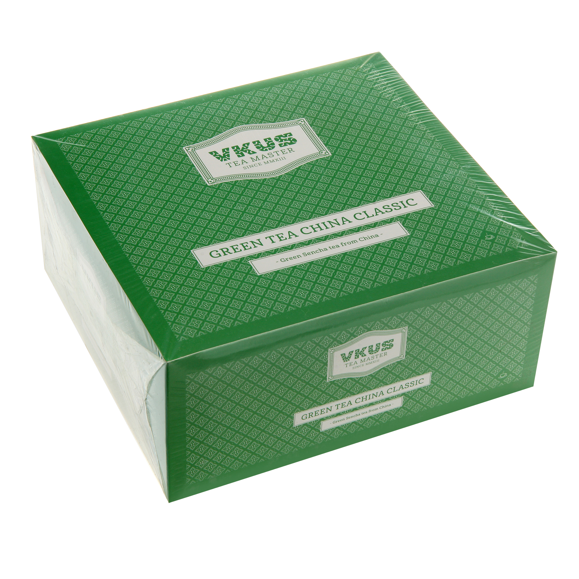 Чай зеленый Vkus классическая сенча 50 шт