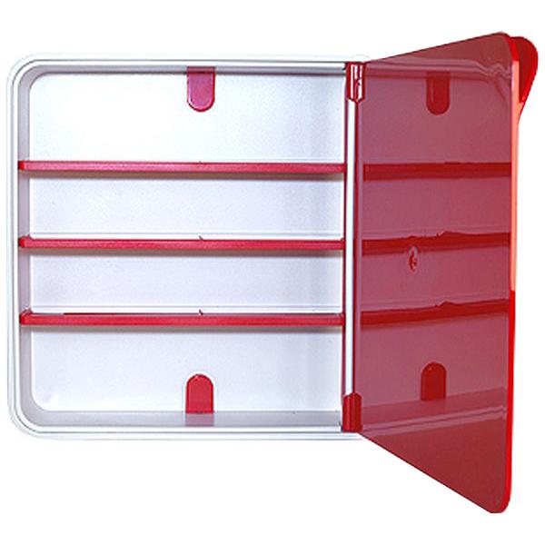 Ящик для лекарств малиновый Byline 32х32х9 см фото