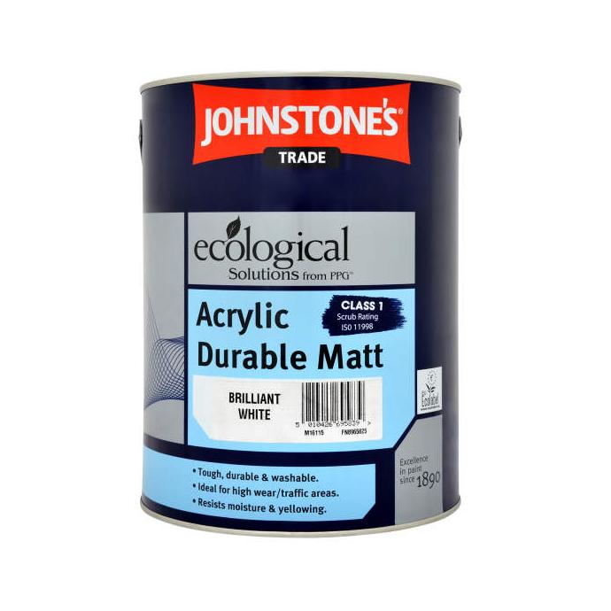 Краска JohnStones Acrylic Durable Matt база L 5 л