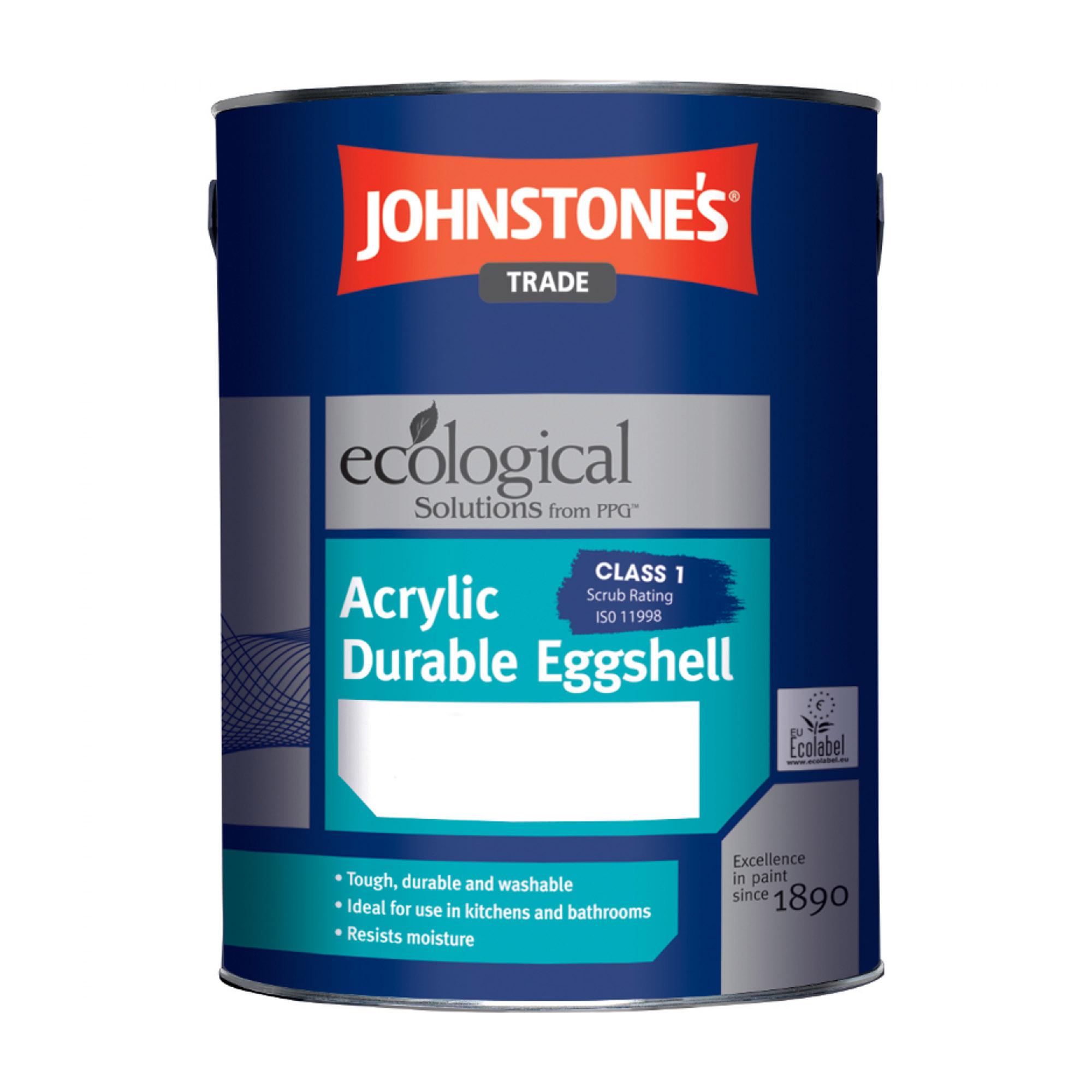 Краска JohnStones Acrylic Durable Eggshell Pastel для влажных помещений 5 л фото