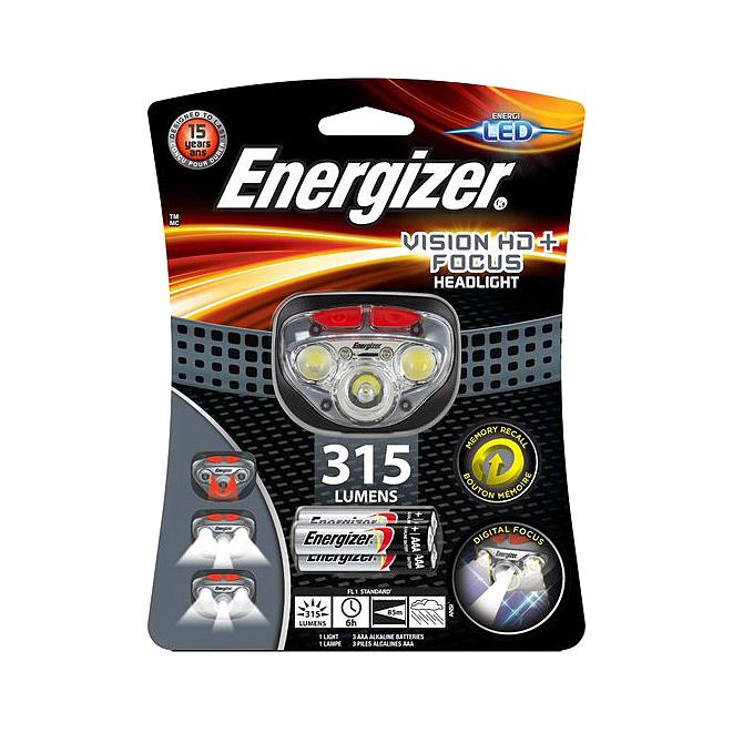 Налобный фонарь Energizer Vision HD+ Focus 3ААА