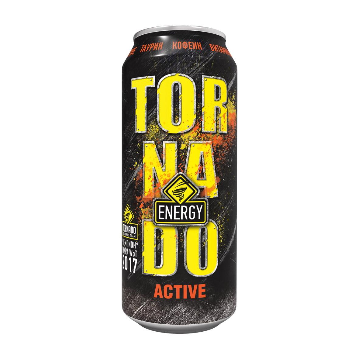 Напиток энергетический Tornado Energy Active 450 мл
