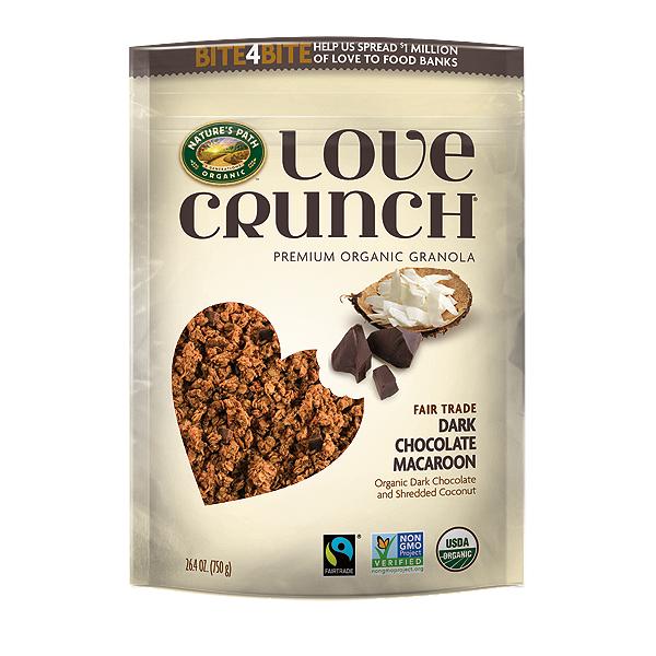 Гранола NATURES PATH Love Crunch темный шоколад и кокосовая стружка 325 г