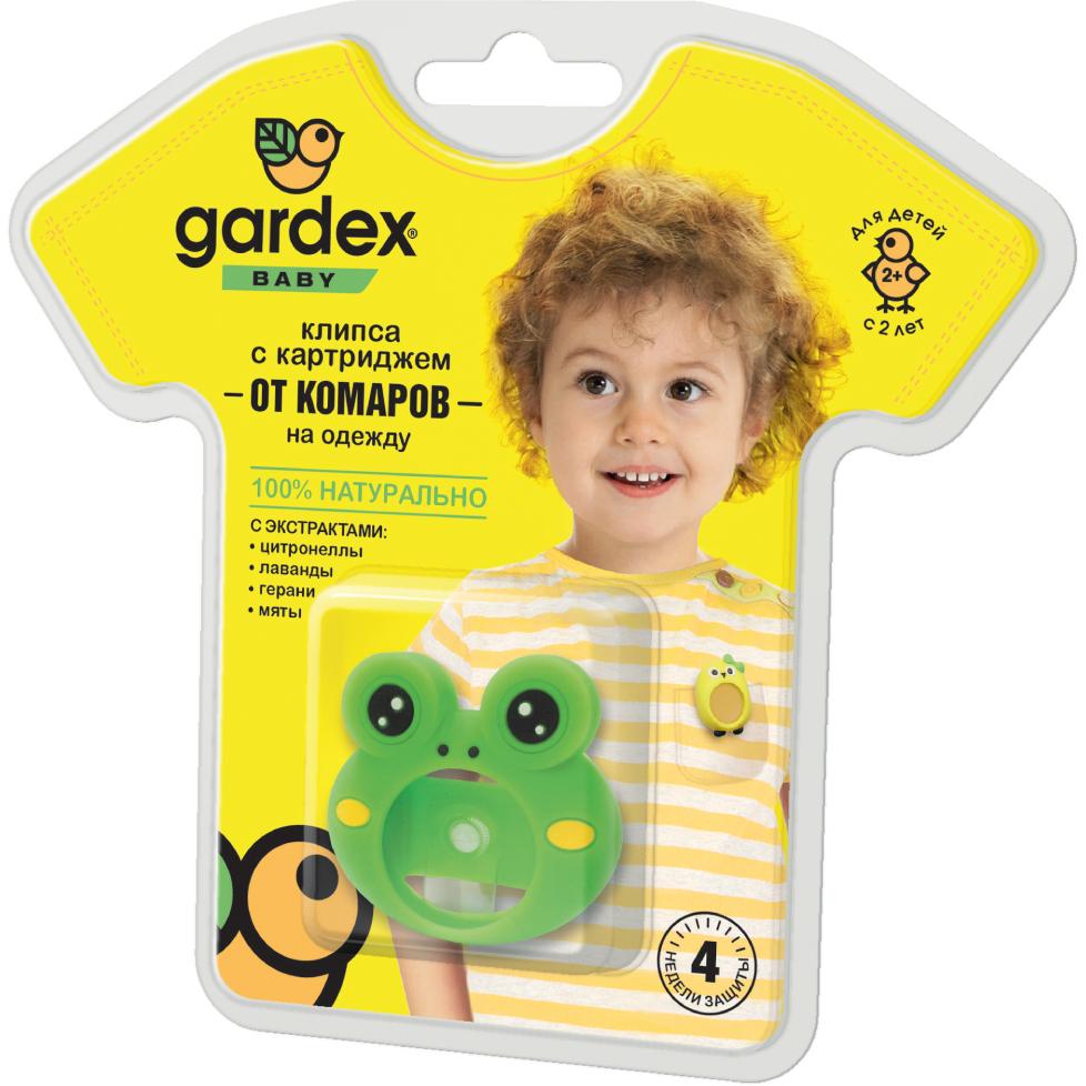 Фото - Клипса с картриджем Gardex Baby от комаров клипса с картриджем gardex baby от комаров