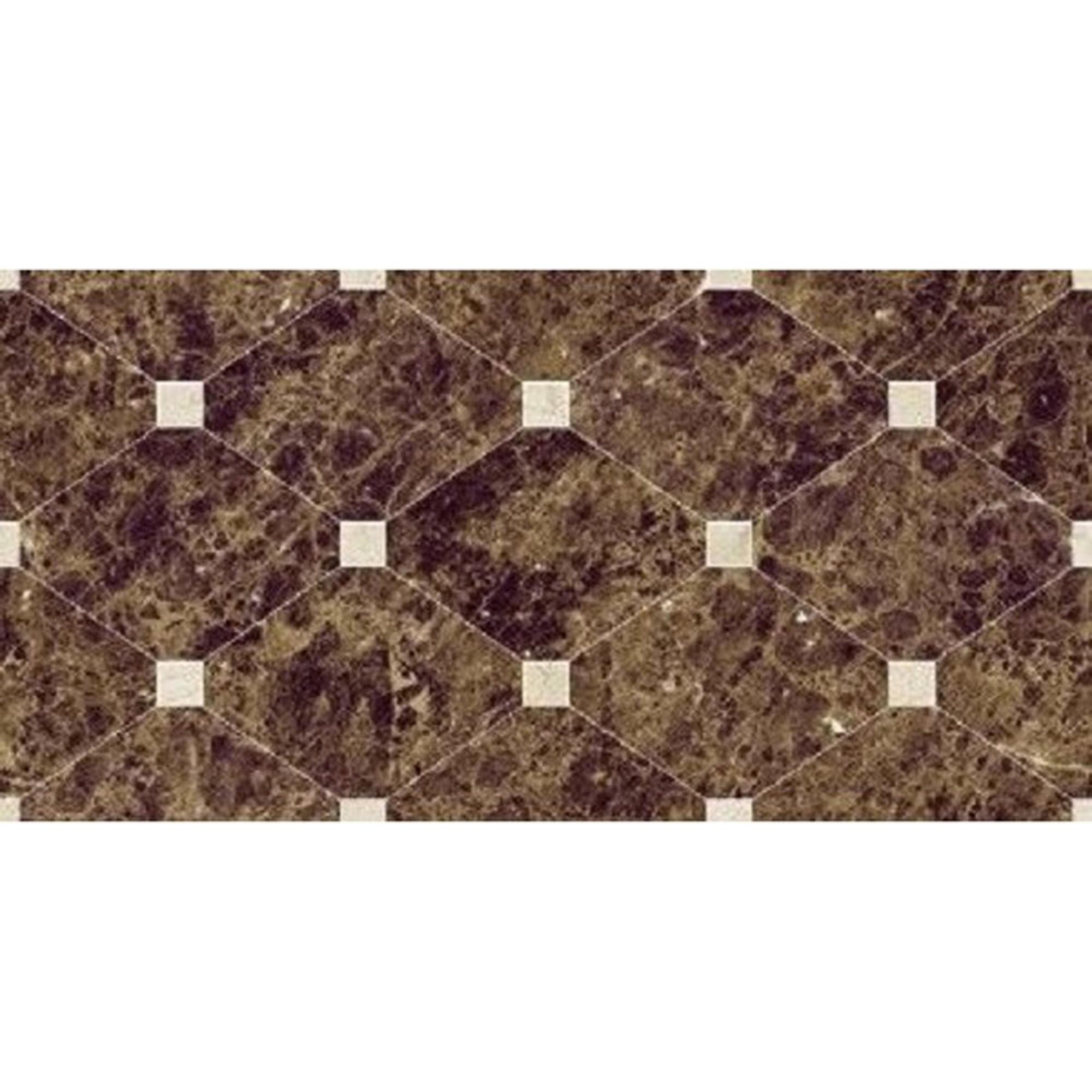 Плитка Navarti Crown Natural Marron 25x50 см