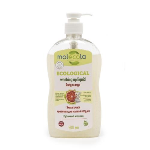 Средство Molecola Рубиновый апельсин для мытья детской посуды 500 мл