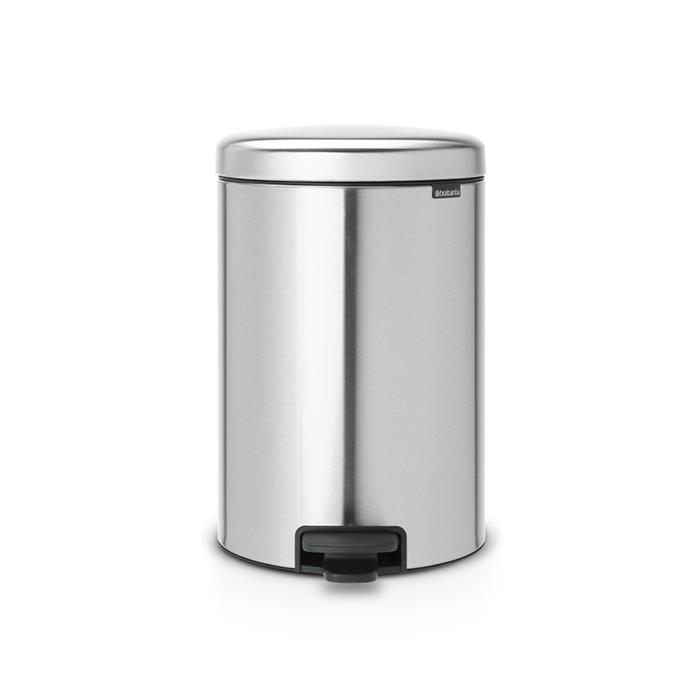Купить Бак мусорный с педалью 20л fpp Brabantia newicon, Бельгия, Нержавеющая сталь