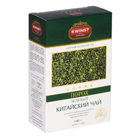 Чай Kwinst Порох зеленый листовой 100 г чай зеленый kwinst китайский 100 пакетиков