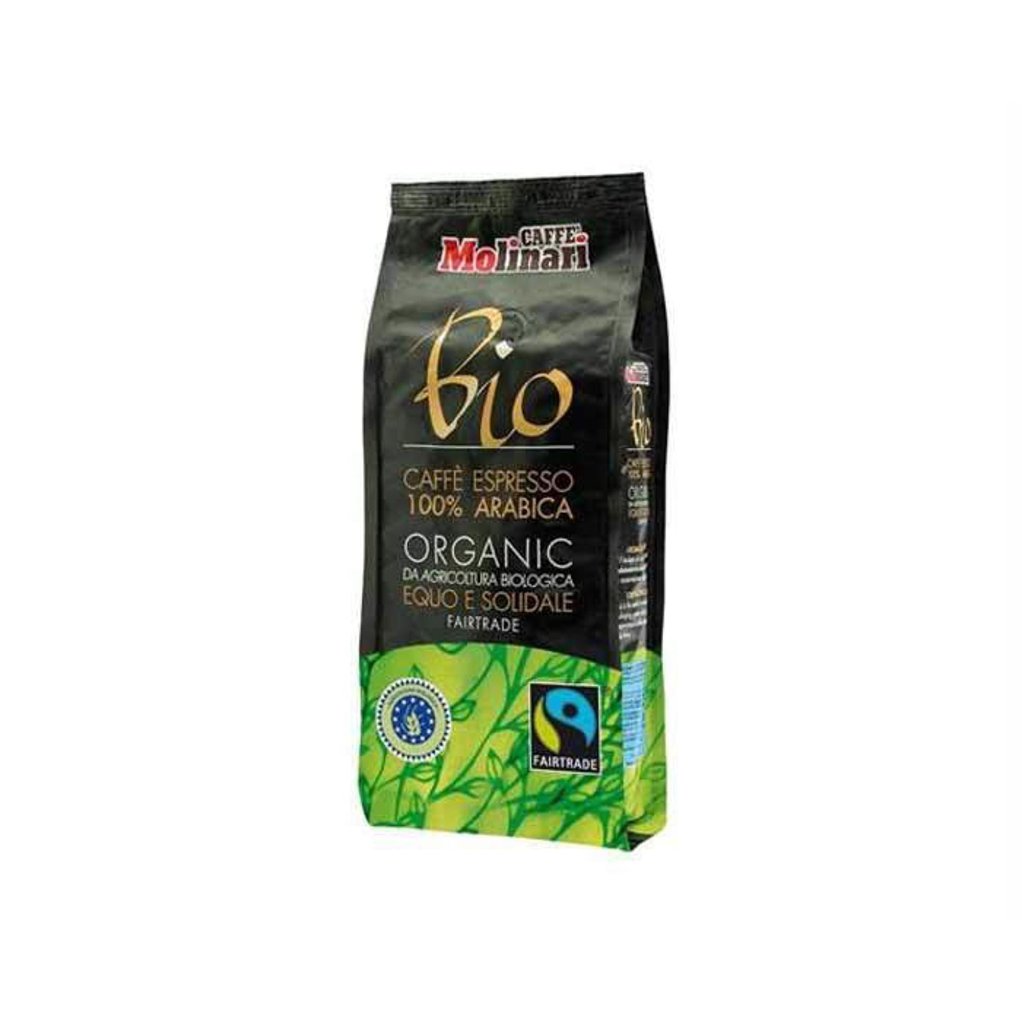 Кофе в зернах Molinari Био Органик 100% Арабика 500 г фото