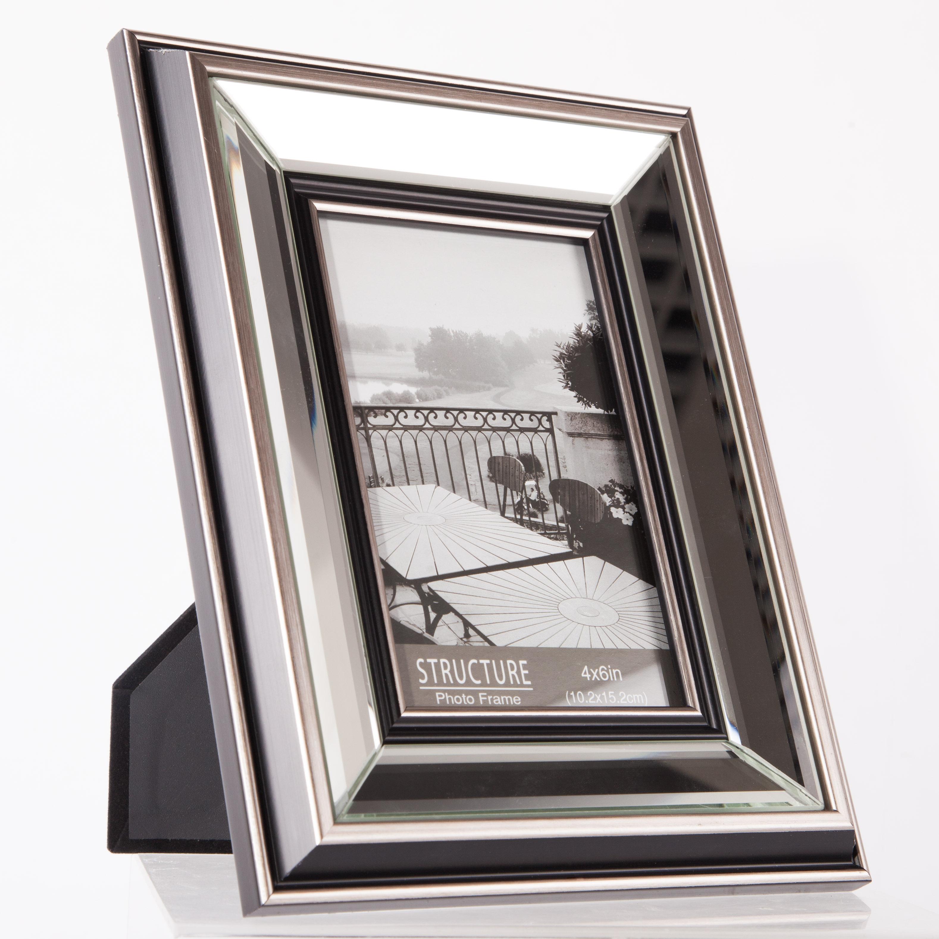 Фоторамка зеркальная 10х15 см H.H.G. Frames (F50138-4X6)