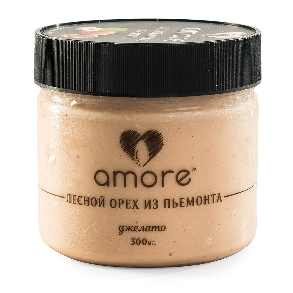 Мороженое молочное Amore Лесной Орех из Пьемонта 300 мл