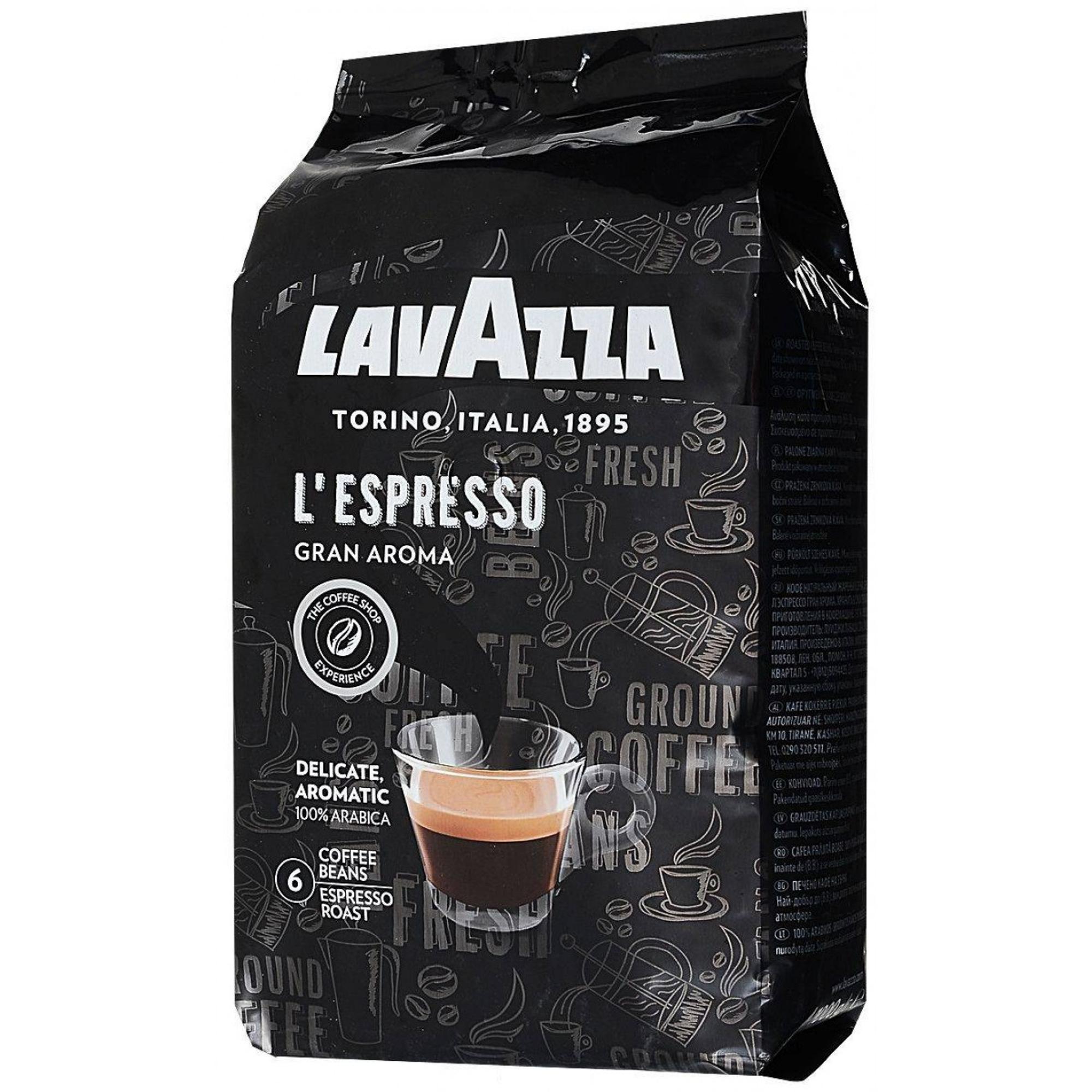 Кофе в зернах Lavazza Gran Aroma 1 кг кофе в зернах lavazza qualita rossa 1 кг