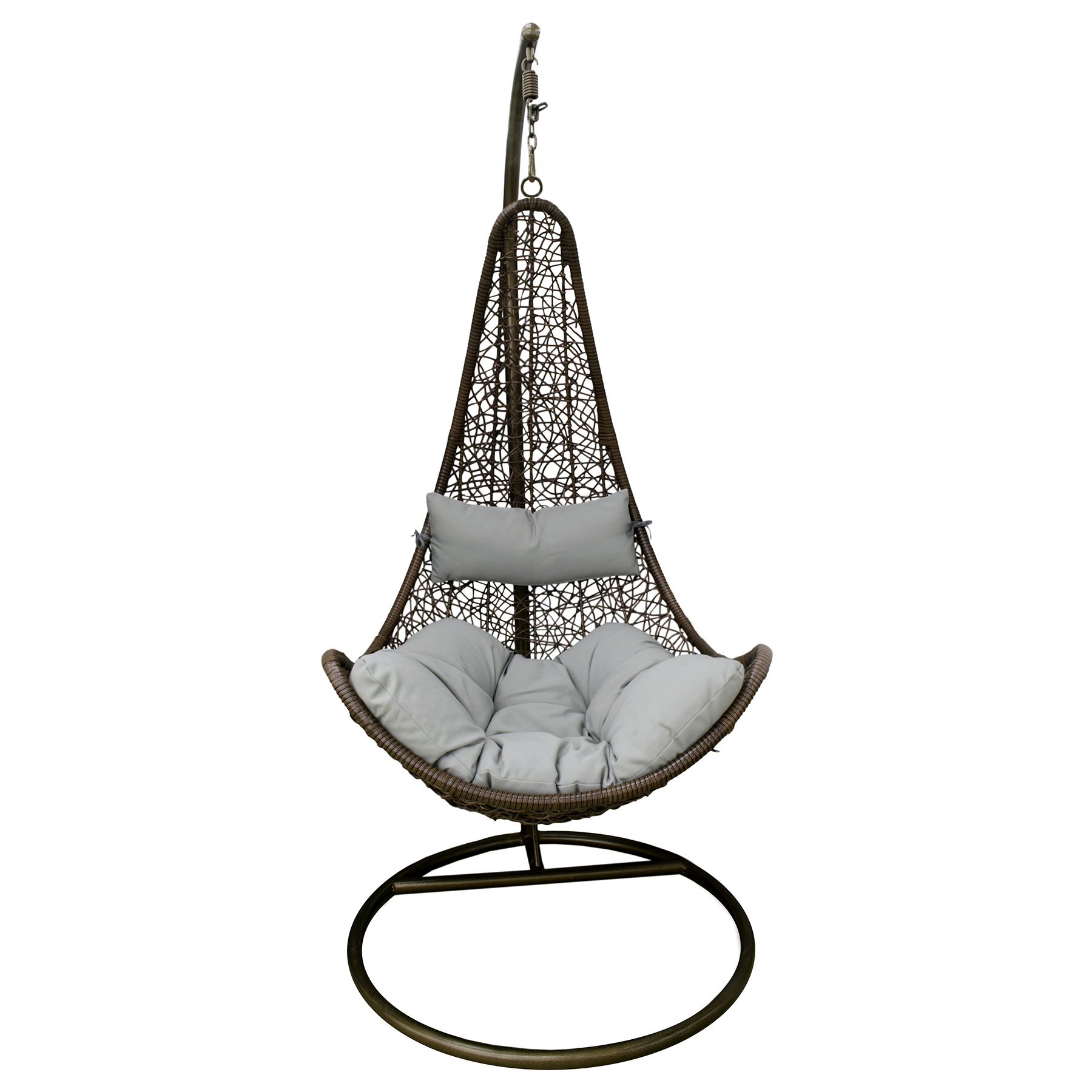 Гамак подвесной коричневый Art and craft furniture (D0320B)