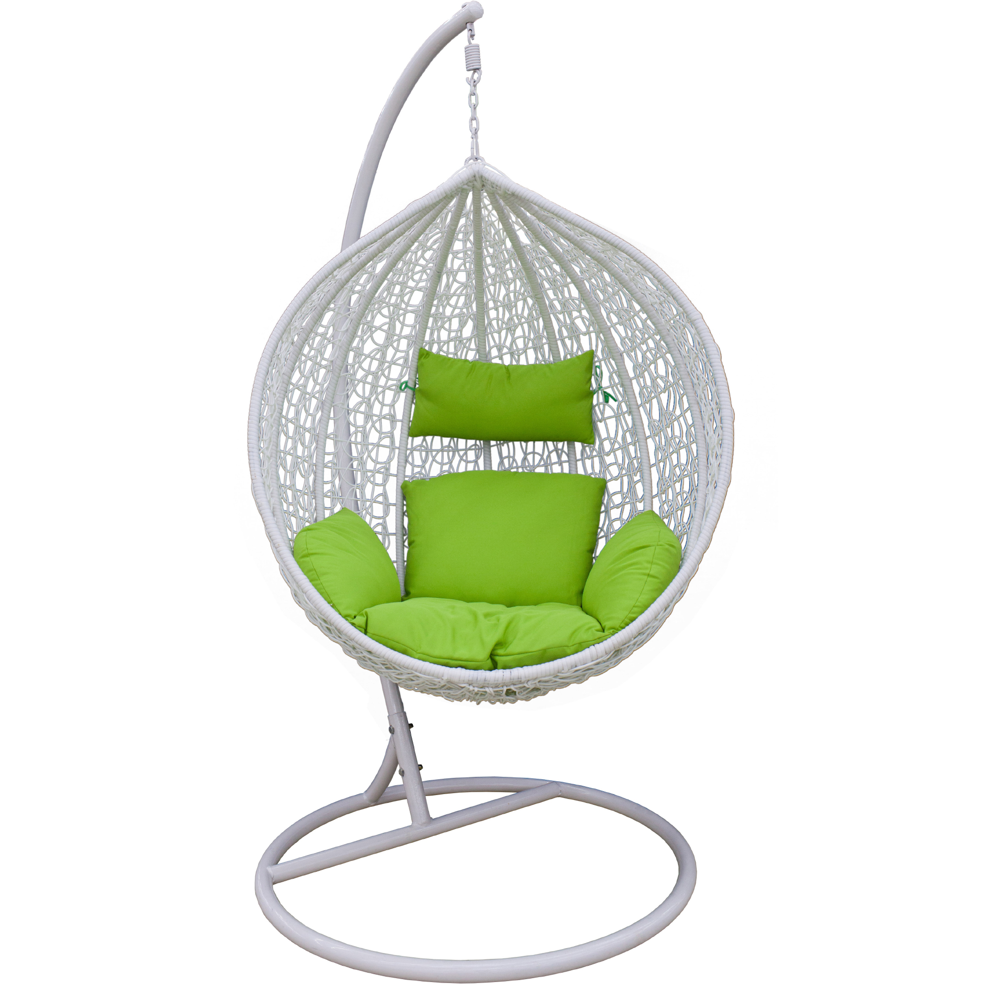 Гамак подвесной белый  Art and Craft furniture (D0329-7A)