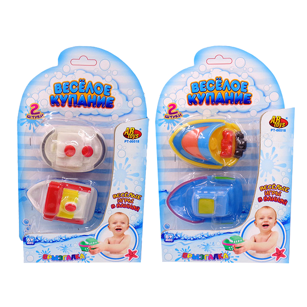 Игрушка для ванны Abtoys Веселое купание катер-брызгалка 8,5 см