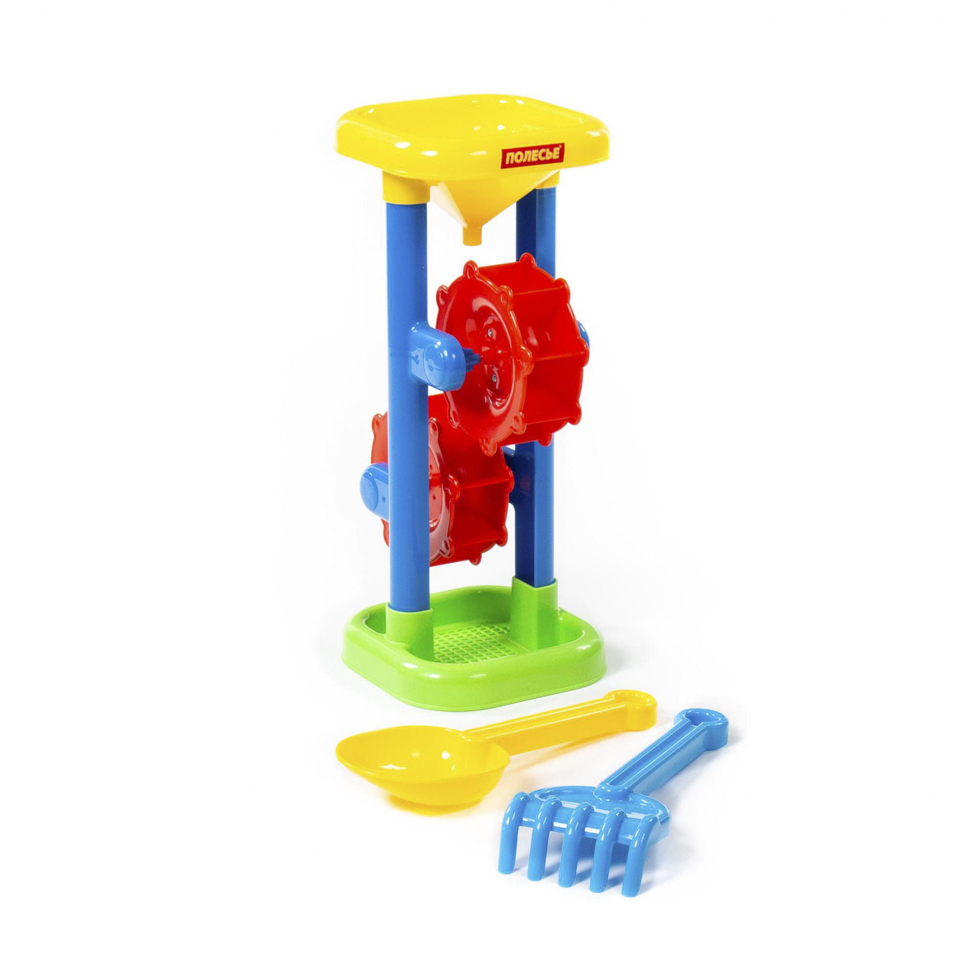 Набор для игры с песком Полесье №282 ролевые игры полесье игровой набор весы