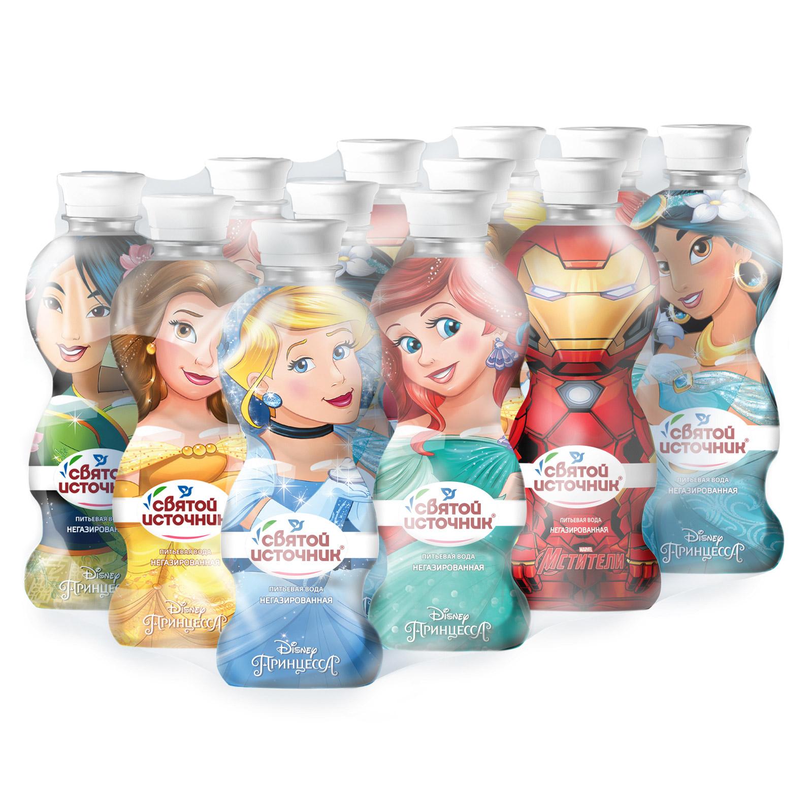 Вода Святой Источник Toy Bottle без газа 330 мл