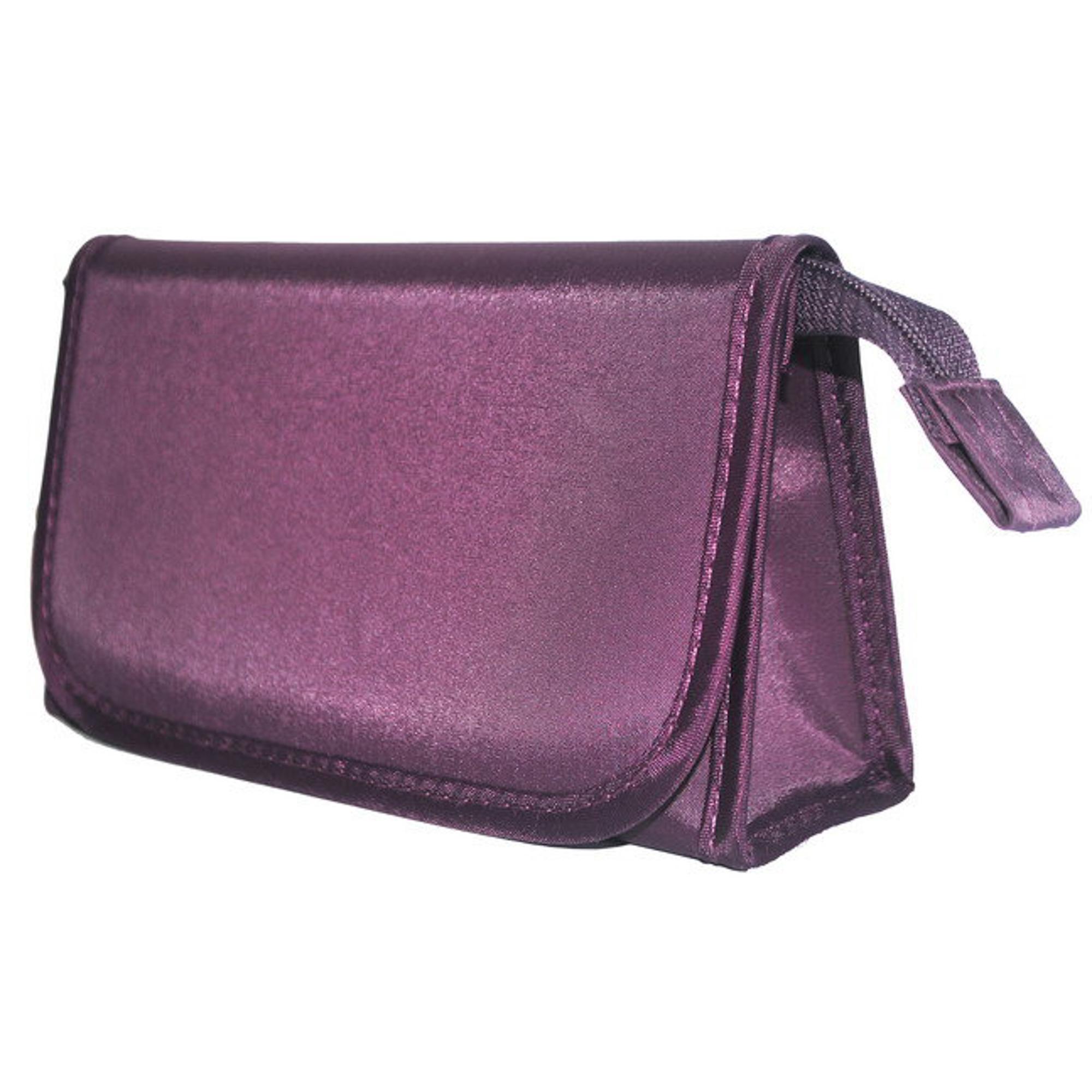 Косметичка Beauty Фиолетовая клапан с зеркалом