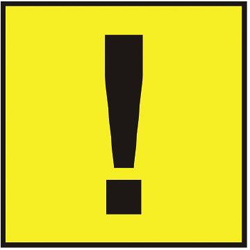 Знак самоклеющийся наружный Autostandart
