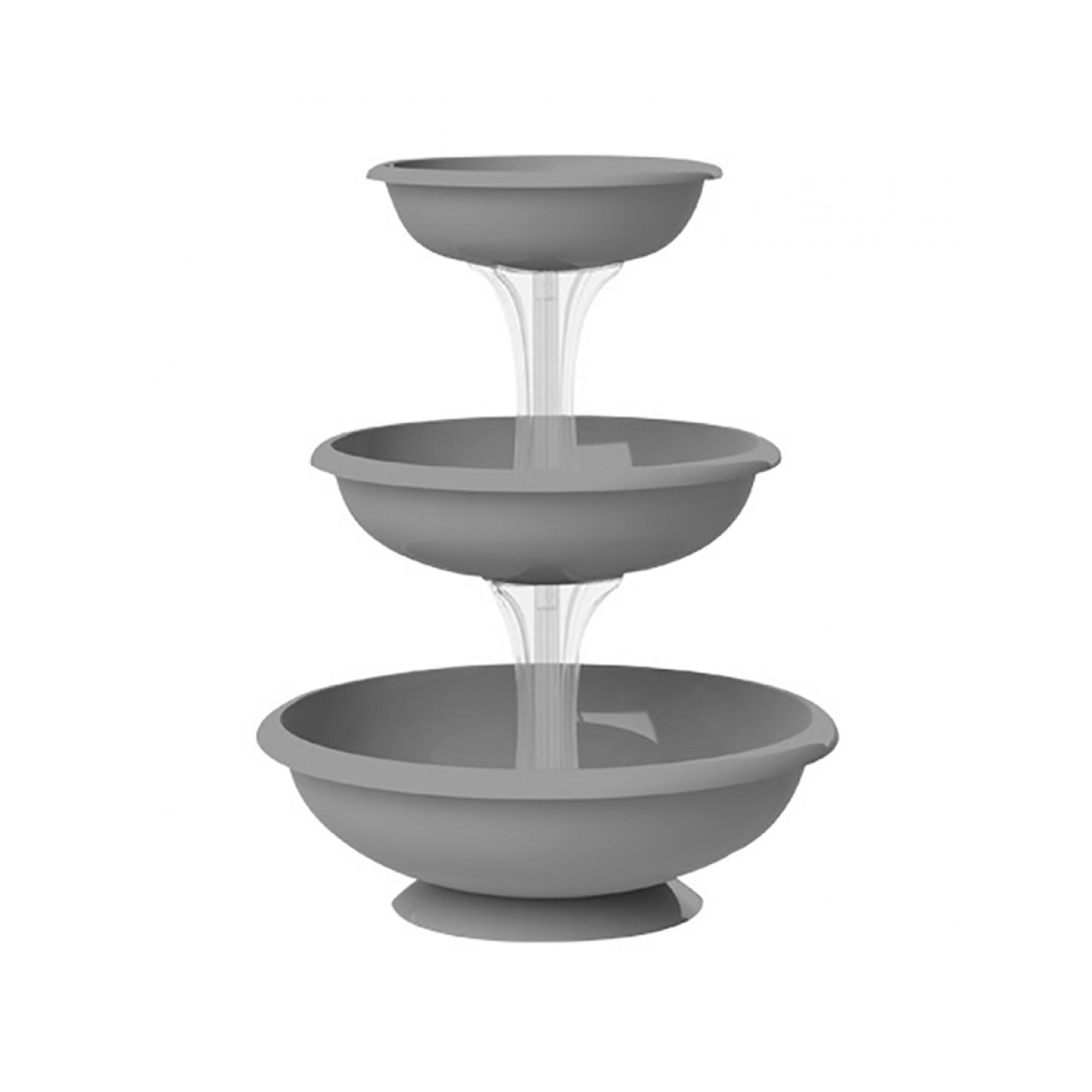 Кашпо каскад Bama Fontana 50х64 серый to4rooms фонарь fontana