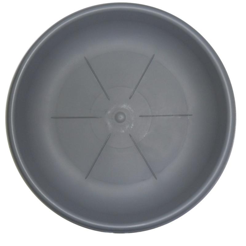 Поддон rotondo 26 см серый (21105)
