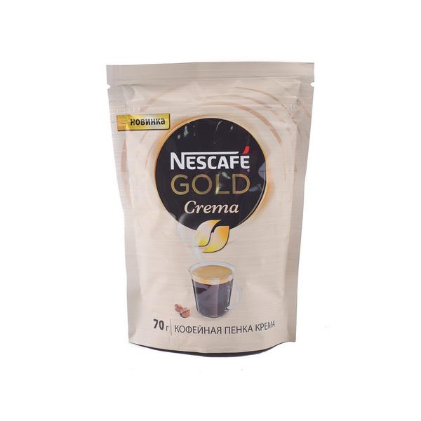 Кофе растворимый Nescafe Gold Crema 70 г фото