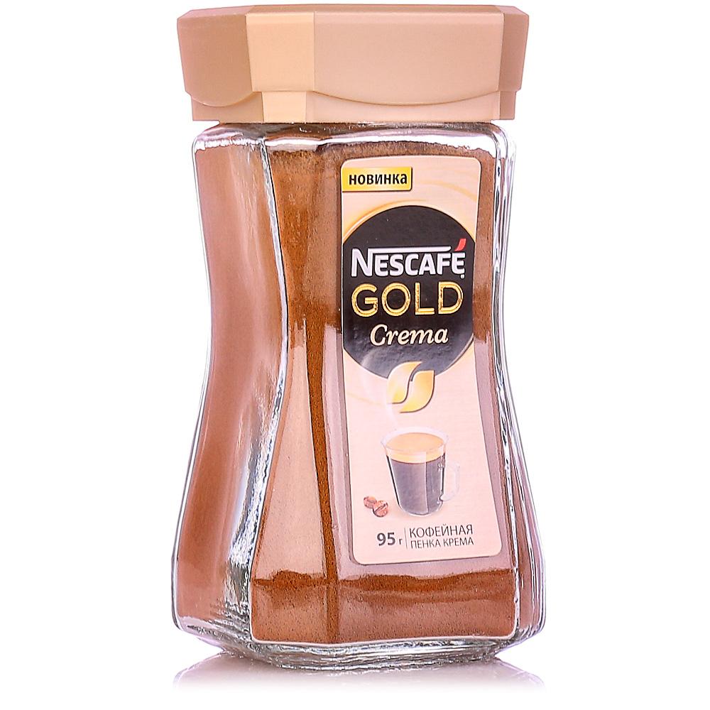 Кофе растворимый Nescafe Gold Crema 95 г