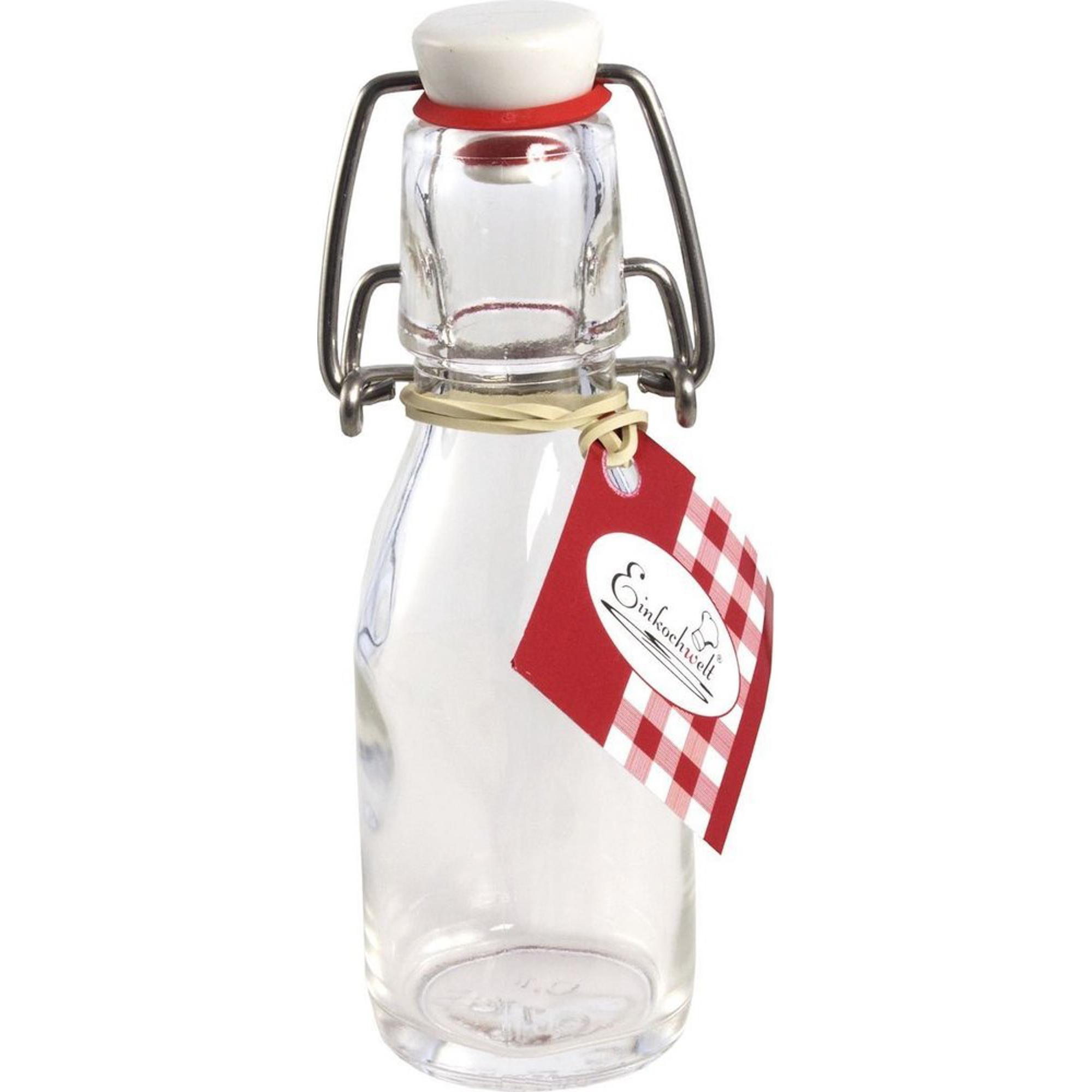 Бутылка 100мл с пробкой Einkochwelt 346401 фото