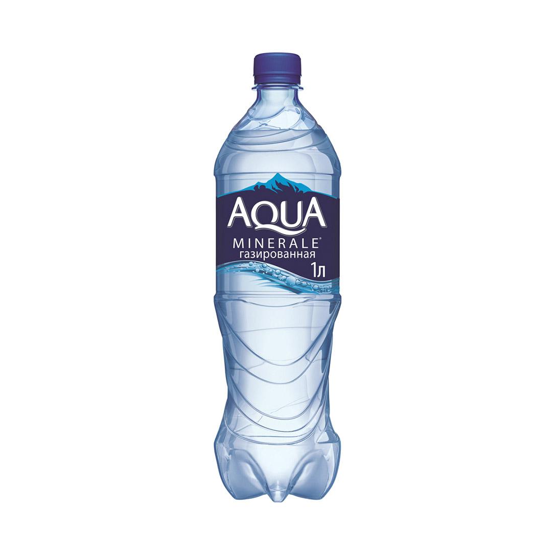 Фото - Вода питьевая Aqua Minerale газированная 1 л вода питьевая aqua minerale негазированная 2 л