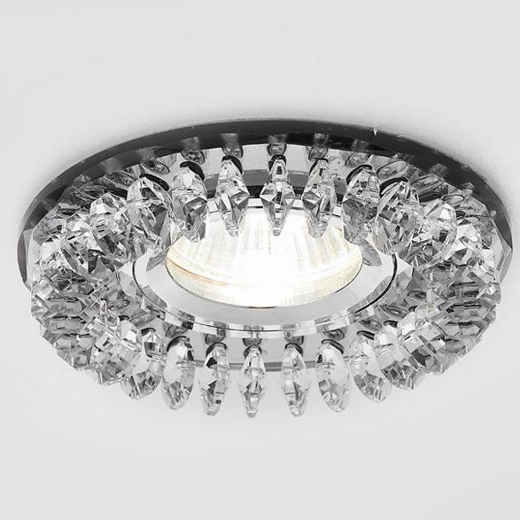 Светильник хром/тонир Ambrella light S220 BK фото