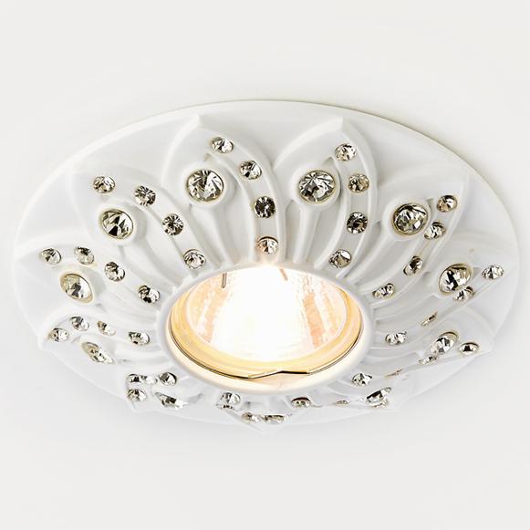 Светильник белый Ambrella light D4455 W фото