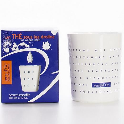 Свеча terre d'Oc ароматическая в стекле Чай под звездами (THE-1-MI) фото