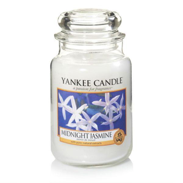 Ароматическая свеча Yankee candle большая Полуночный жасмин 623 г