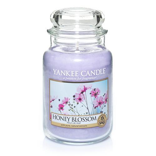 Ароматическая свеча Yankee candle большая Цветочный мед 623 г мед дикий мед башкирский цветок цветочный 600 г