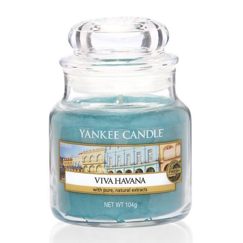 Ароматическая свеча Yankee candle маленькая Да здравствует Гавана 104 г фото