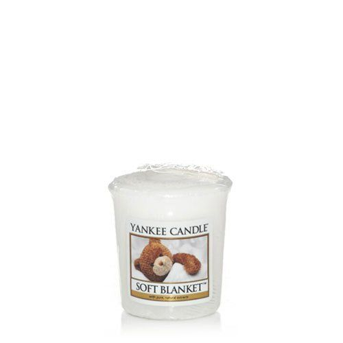 Аромасвеча для подсвечника Yankee candle Мягкое одеяло 49 г