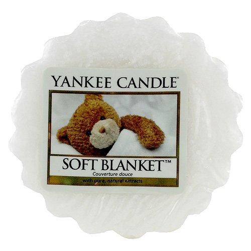 Ароматическая свеча-тарталетка Yankee candle Мягкое одеяло 22 г