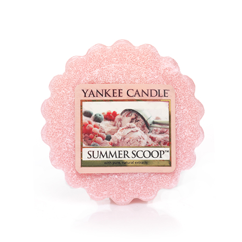 Ароматическая свеча-тарталетка Yankee candle Летнее мороженое 22 г фото