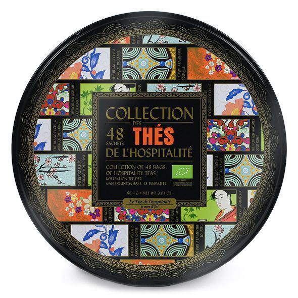 Набор органического чая Terre d`Oc 6 сортов, 48 пакетиков аромат для диффузора terre d oc вальс цветов 150 г