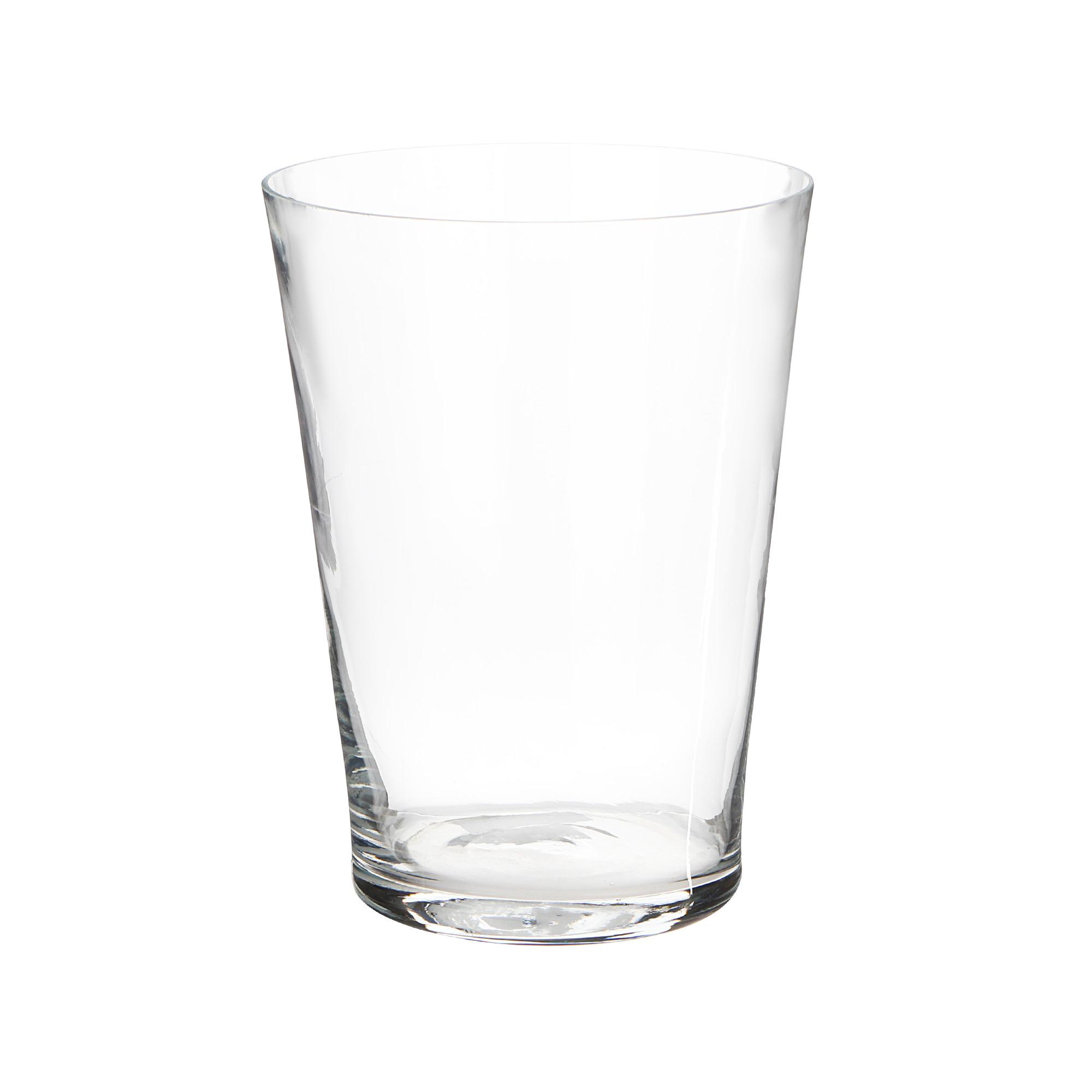 Ваза Hakbijl glass cold cut 22х30 см