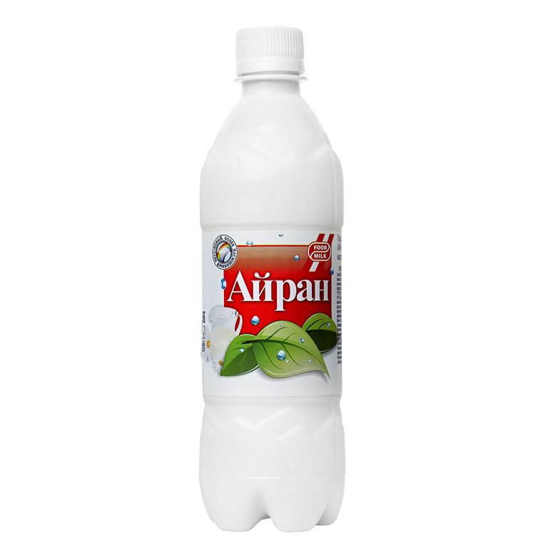 Напиток кисломолочный Айран Food Milk газированный 1,5% 0,5л недорого