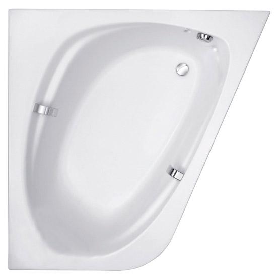 Купить Акриловая ванна Jacob Delafon Odeon Up 140x140 см, Франция, белый, акрил