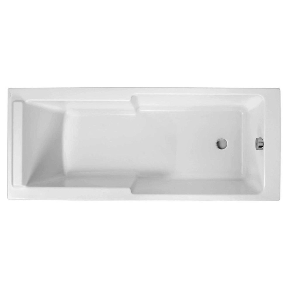 Купить Акриловая ванна Jacob Delafon Struktura 170x70 см, Франция, белый, акрил