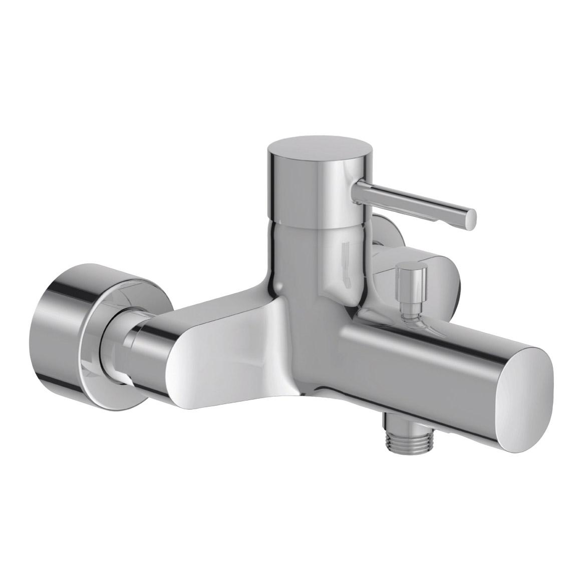 Купить Смеситель для ванны Jacob Delafon Cuff E45532-CP, смеситель, Франция, хром