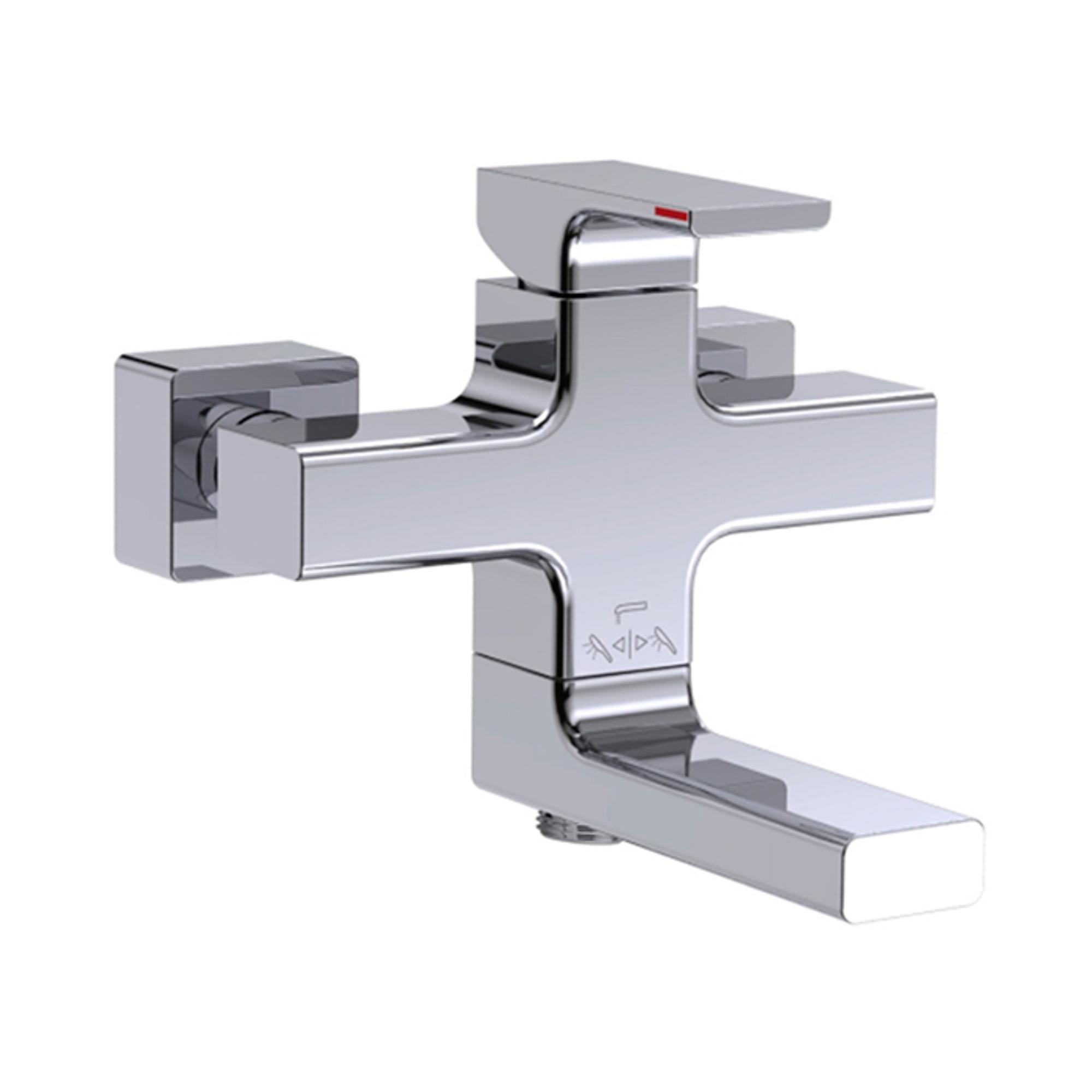 Купить Смеситель для ванны Jacob Delafon Strayt E45370-CP, смеситель, Китай, латунь, керамический картридж