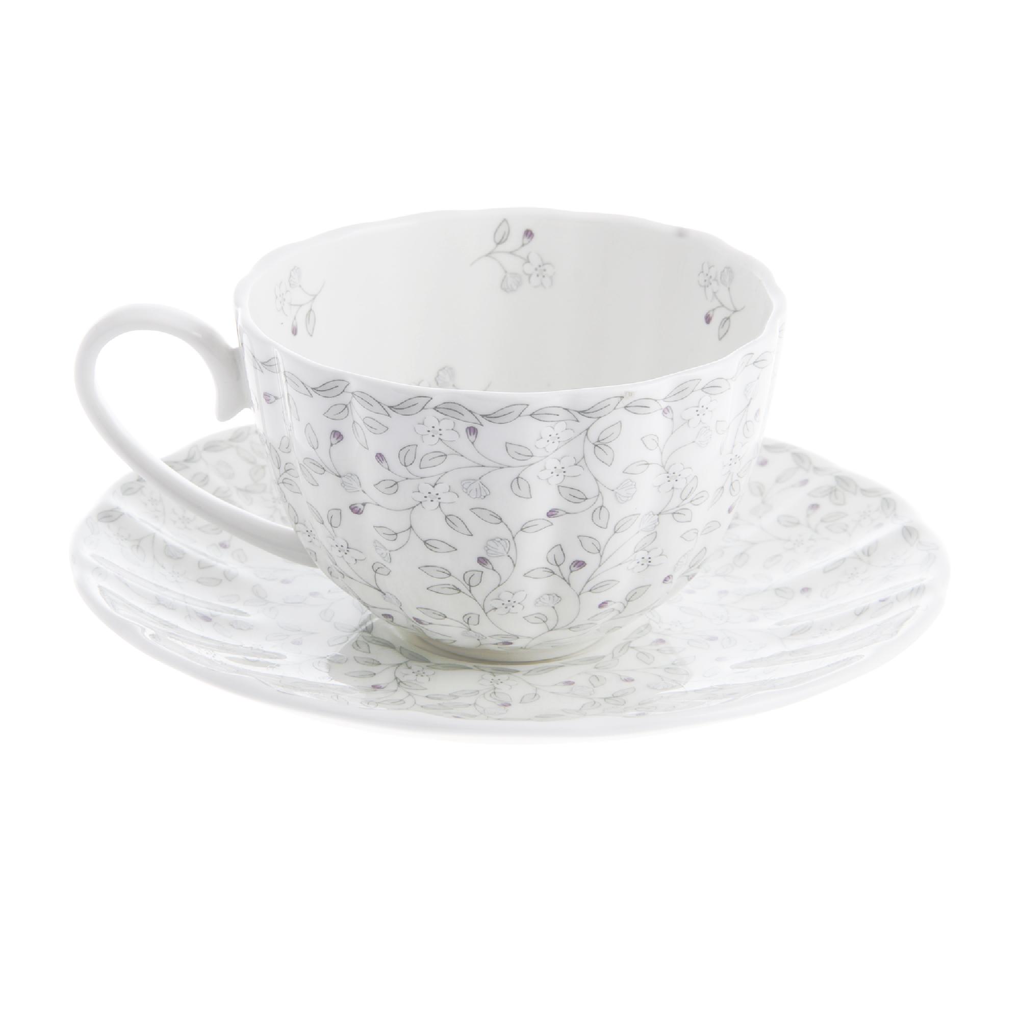 Чашка чайная 300 мл 1/2 джулия грэй Hatori